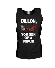 Dillon you son of a bitch  Unisex Tank thumbnail