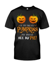 If you like my pumpkins you should see my  Classic T-Shirt front