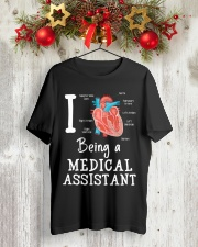 I being a medical assistant  Classic T-Shirt lifestyle-holiday-crewneck-front-2