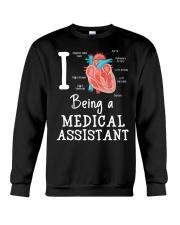 I being a medical assistant  Crewneck Sweatshirt thumbnail