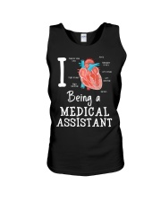 I being a medical assistant  Unisex Tank thumbnail