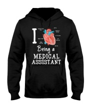 I being a medical assistant  Hooded Sweatshirt thumbnail