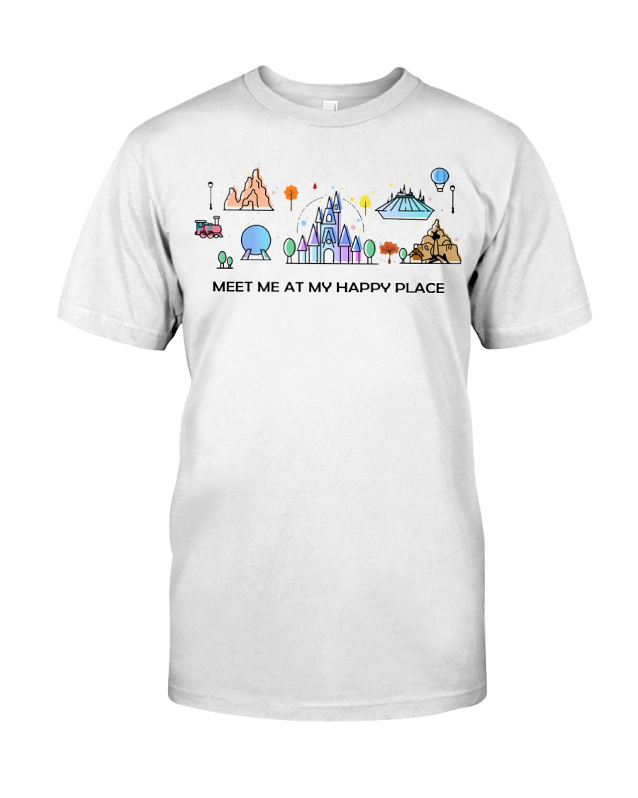 Meet me at my happy place Classic T-Shirt