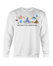 Meet me at my happy place Crewneck Sweatshirt thumbnail