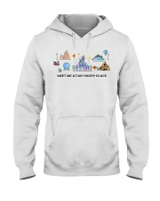 Meet me at my happy place Hooded Sweatshirt thumbnail