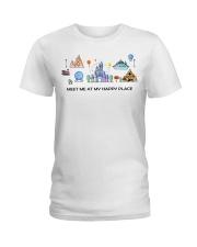 Meet me at my happy place Ladies T-Shirt thumbnail
