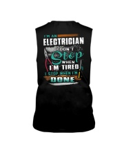 I'm an electrician I don't stop when I'm tired Sleeveless Tee thumbnail