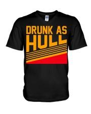 Drunk as hull V-Neck T-Shirt thumbnail
