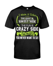 I have 3 slides the quiet and sweet side Classic T-Shirt front
