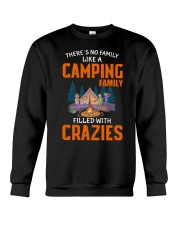 There's no family like a camping family filled Crewneck Sweatshirt thumbnail