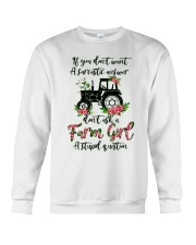 If you don't want a sarcastic answer don't ask Crewneck Sweatshirt thumbnail