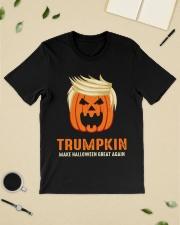 Trumpkin make halloween great again Premium Fit Mens Tee lifestyle-mens-crewneck-front-19