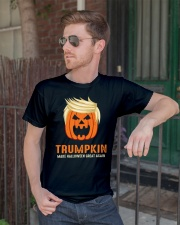Trumpkin make halloween great again Premium Fit Mens Tee lifestyle-mens-crewneck-front-2