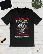Grandpa not as lean but still as mean so don't mes Classic T-Shirt lifestyle-mens-crewneck-front-17