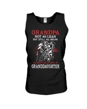 Grandpa not as lean but still as mean so don't mes Unisex Tank thumbnail