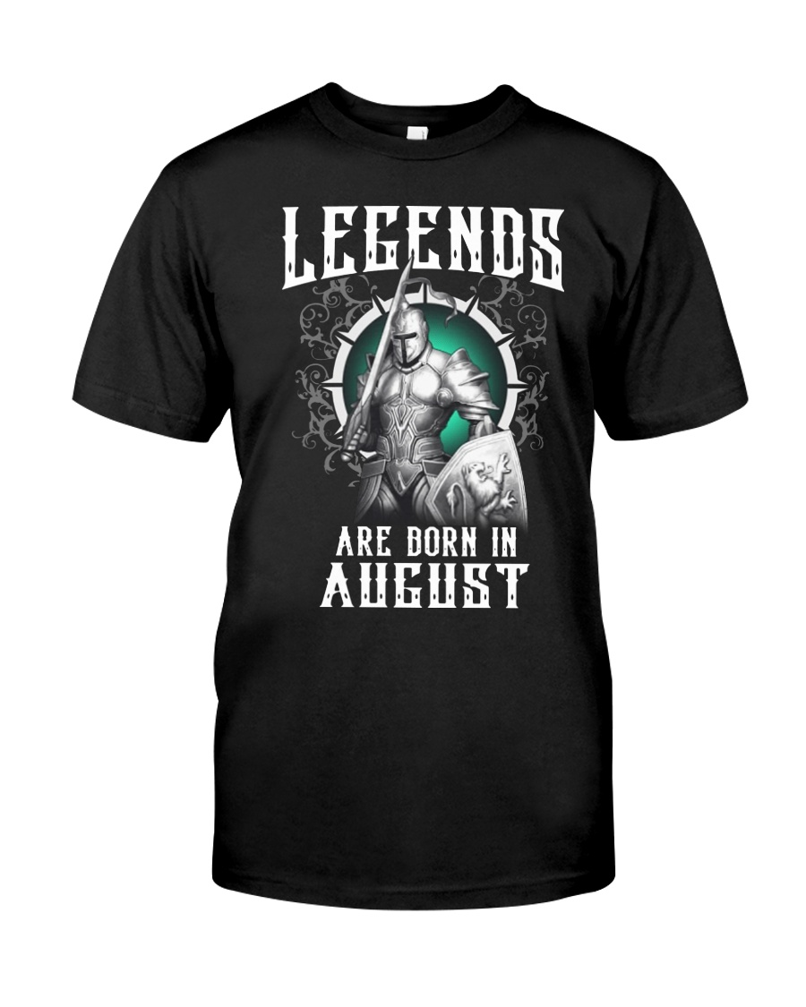 Viking Legend are born in August Classic T-Shirt