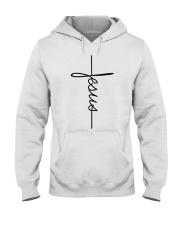 Jesus Vertical Hooded Sweatshirt thumbnail