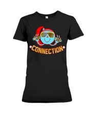 Boss hug connection friends forever Premium Fit Ladies Tee thumbnail