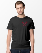 Machinist Flag  Classic T-Shirt lifestyle-mens-crewneck-front-15