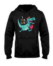 Valentines day dinosaur I steal hearts Hooded Sweatshirt thumbnail
