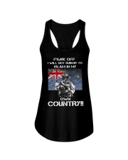 Fuck off I will not submit to islam in my own coun Ladies Flowy Tank thumbnail