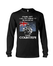 Fuck off I will not submit to islam in my own coun Long Sleeve Tee thumbnail