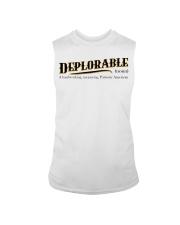 Deplorable definition Sleeveless Tee thumbnail