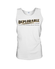 Deplorable definition Unisex Tank thumbnail