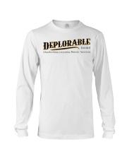 Deplorable definition Long Sleeve Tee thumbnail