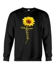 Jesus Sunflowers shirt Crewneck Sweatshirt thumbnail