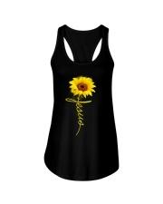 Jesus Sunflowers shirt Ladies Flowy Tank thumbnail