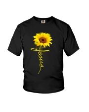 Jesus Sunflowers shirt Youth T-Shirt thumbnail