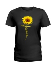 Jesus Sunflowers shirt Ladies T-Shirt thumbnail