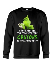 I have neither the time nor the crayons to explain Crewneck Sweatshirt tile