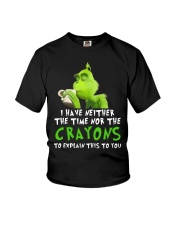 I have neither the time nor the crayons to explain Youth T-Shirt thumbnail