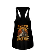 Halloween death smiles at all of us only  Ladies Flowy Tank thumbnail