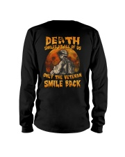 Halloween death smiles at all of us only  Long Sleeve Tee thumbnail