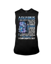 Aquarius will keep it real 100 unpredictable Sleeveless Tee thumbnail