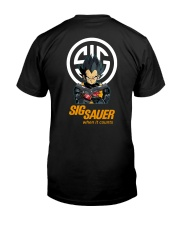 Sig sauer when it count Classic T-Shirt back