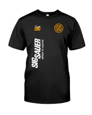 Sig sauer when it count Classic T-Shirt front