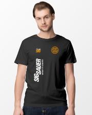 Sig sauer when it count Classic T-Shirt lifestyle-mens-crewneck-front-15