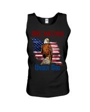 America eagle one nation under god Unisex Tank thumbnail