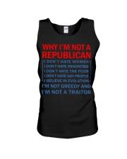 Why I not a Republican Unisex Tank thumbnail