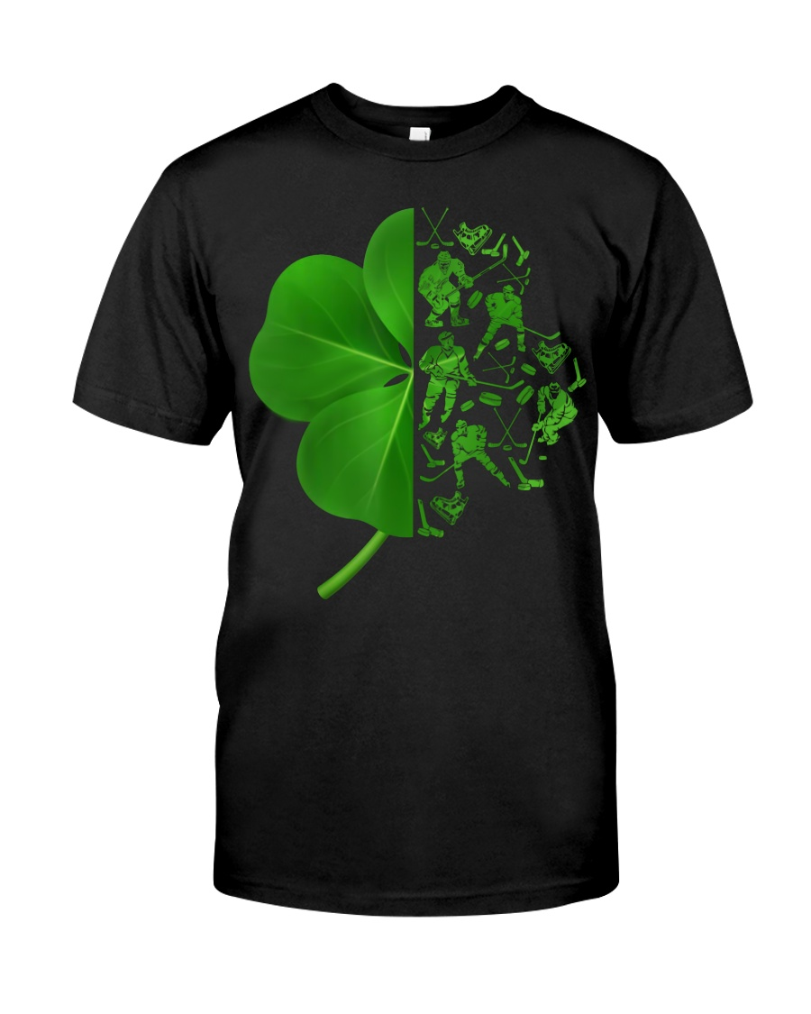 Shamrock hockey shirt Premium Fit Mens Tee