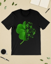 Shamrock hockey shirt Premium Fit Mens Tee lifestyle-mens-crewneck-front-19
