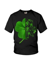 Shamrock hockey shirt Youth T-Shirt thumbnail