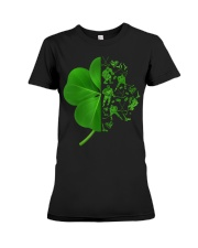 Shamrock hockey shirt Premium Fit Ladies Tee thumbnail