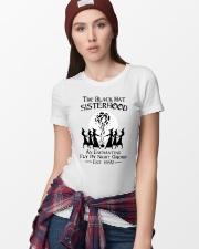 The black hat sisterhood an enchanting fly by nigh Ladies T-Shirt lifestyle-women-crewneck-front-9