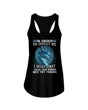 Dragon in order to insult me I must first value Ladies Flowy Tank thumbnail