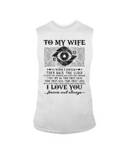 To my wife I wish I could turn back the clock  Sleeveless Tee thumbnail